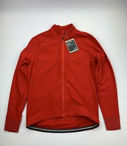 Giro Chrono Long Sleeve Thermal Jersey Red Size XL New
