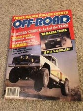 OFF-ROAD MAGAZINE March 1985 - Triple Header Pulling & Monster Trucks - RARE