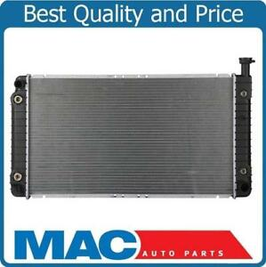 New Radiator 100% Tested For 96-02 Express Van With Oil & Transmission Cooler