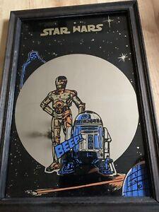 Rare Original 1977 Star Wars Picture Mirror
