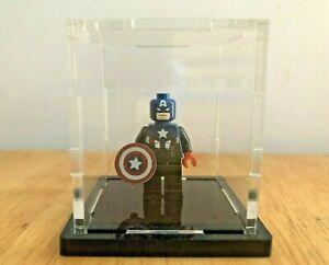 Lego 2012 Toy Fair Captain America SDCC RARE - With Protective Case