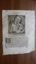 1664 Calvi Scrittori Bergamaschi: Valeriano Olmo Canonico Lateranense
