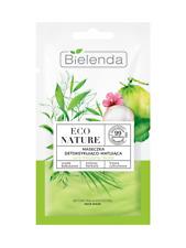 BIELENDA Eco Nature DETOXIFYING & MATTIFYING FACE MASK