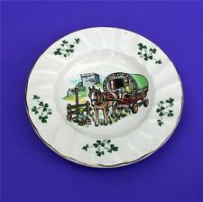 Vintage Carrigaline Pottery Cork Ireland Shamrocks Ashtray