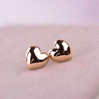 ALS_ 1 Pair Trendy Women Cute Small Heart Ear Stud Earrings Jewelry Xmas Gift  L