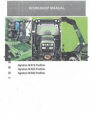 Deutz Fahr Tractor Agrotron M610 M620 M640 ProfiLine Workshop Service Manual
