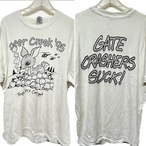 Vtg 90s Grateful Dead - Deer Creek '95 The Lost Concert Gate Crashers T shirt XL
