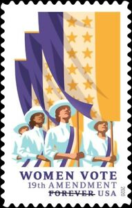 USPS '19th Amendment: Women Vote' Forever Stamps, Full Pane of 20 (Free Ship)