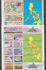 Philippine Stamps 1995 End of World War II (2)Miniature Sheets Complete set
