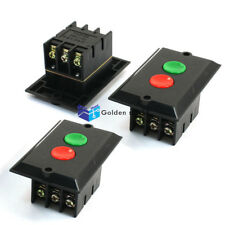 3Pcs KAO-5B 2-Positions Start-up Motor Locking Electromagnetic Switch 380V 5A