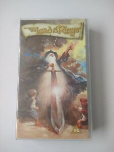 Lord of the Rings 1978 Animation Movie VHS sealed tape