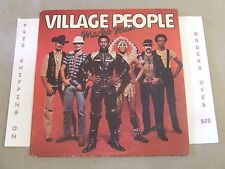 "VILLAGE PEOPLE MACHO MAN  12"" SINGLE 4 MIXES"