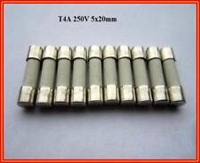 SPT Sicherung Ceramic T 4A 250V Träge 5x20mm Feinsicherung Fuse 10 Stück