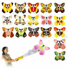 20 pcs Flying Butterfly Card Kids Surprise Prank Toys Magic Props Birthday Gifts
