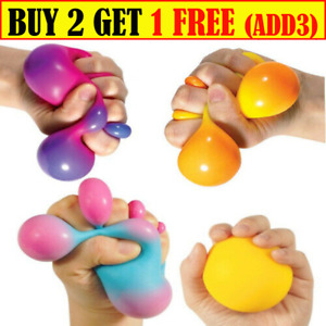 Colour change Sensory Stress Reliever Ball Toy Autism Squeeze Anxiety Fidget UK