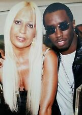 "Puff Daddy, P Diddy, Bad Boy, Donatella Versace, set of ""Satisfy You"", hip-hop"
