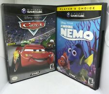 Cars & Finding Nemo (GameCube) *Both Tested* (Fast Free Shipping Day Of Purch)
