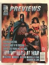 April 2001 DC Diamond Comics Previews Magazine Justice League Fray Joss Whedon