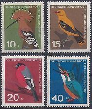 Bund BRD Germany Mi. Nr. 401 402 403 404 Jahr year 1963 Postfrisch