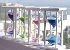 45/60 Minute 20.5*10*10 Wooden Sandglass Hourglass Countdown Timer Clock Decor