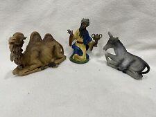 Vintage Fontanini Nativity Scene Set of 3 Figurines Made In Italy Depose 33 50 5