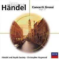 CHRISTOPHER/HÄNDEL & HAYDN SOCIETY HOGWOOD - CONCERTI GROSSI OP.3  CD NEU