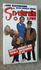 SINDERELLA LIVE Jim Davidson - UK PAL VHS VIDEO CASSETTE