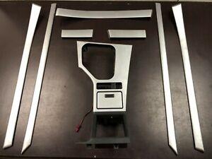 BMW OEM E39 5 Series M Sport Silver Aluminum Savoini Interior Trims Set Kit LHD