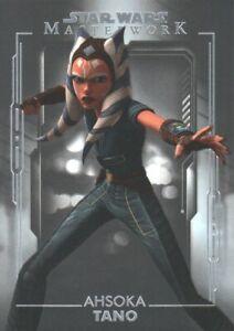2020 Topps Star Wars Masterwork #87 Ahsoka Tano