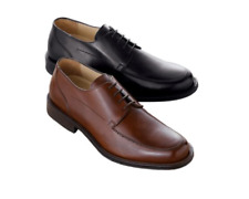 $225 New in box Johnston & Murphy lace up oxfords dress Shoe Mahogany 11 M