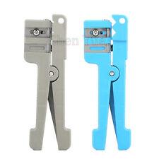 2pcs 45-162/163/Coaxial Cable Stripper Fiber Optic Stripper Transverse Tube Cut