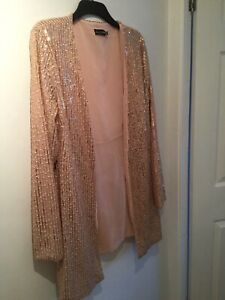 Pretty Little Thing Sequin Jacket Size 16