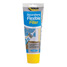 FLEXIBLE DECORATORS FILLER EASI SQUEEZE EVERBUILD 200ML WHITE SEALANT CRACKS C2