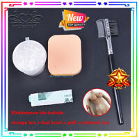 "1/6 Dusting flourpowder+storage+Gloves Set Protection Fit 12"" Body Action figure"