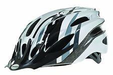 Bike Helmet large 58-61cm Silver/Black Raleigh