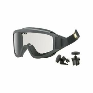 ESS Innerzone 1 Safety Ballistic Structural Fire Goggles Black/Clear 740-0264