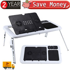 Portable Laptop Tray Stand Folding Desk Computer Notebook Bed Breakfast Table UK