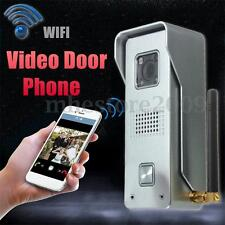 Wireless WiFi Remote Video IR Camera Door Phone Doorbell Home Security Rainproof