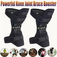 2 PCS Leg Power Knee Stabilizer Pads Patella Booster Spring Knee Brace Support
