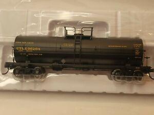 Atlas HO 11000 UTLX Gallon Tank Car Road #96264 Black