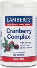 Lamberts Cranberry Complex Powder, 100g powder