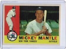 Mickey Mantle 1960 Topps Reprint #350 New York Yankees