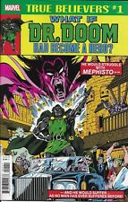 Dr. Doom What If Comic Issue 1 Classic Reprint True Believers 2018 Don Glut Kida