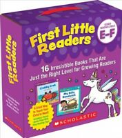 First Little Readers Guided Reading Levels E & F : 16 Irresistible Books That...