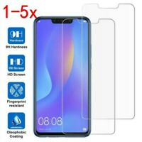 1-5X For Huawei P Smart 2019 Honor 10 Lite 8X 9H Tempered Glass Screen Protector