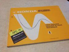 Honda MTX125 MTX200 WD MTX 125 200 parts list liste catalogue pièce détachée