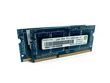 Ramaxel RMT3010EC58E8F-1333 4GB (2x2GB) PC3-10600 DDR3-1333 204-Pin Laptop RAM