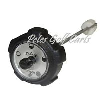 CLUB CAR DS GOLF CART GAS CAP WITH GAUGE FITS 1988 to 2010