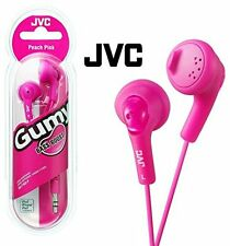 JVC GUMY In-Ear Audio Headphones for iPod/iPhone/MP3/ Smartphone - Pink. Sealed