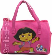 "Dora the Explorer 7"" Purse Nickelodeon Girls' Pink Handbag Tube Style Tote"